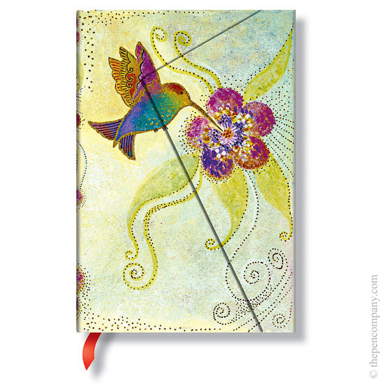 Lined Mini Paperblanks Hummingbird Whimsical Creations Journal - 1