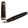 Black/Gold Sailor Professional Gear Naginata-Togi Fountain Pen - Naginata Togi Medium Fine Nib - 3