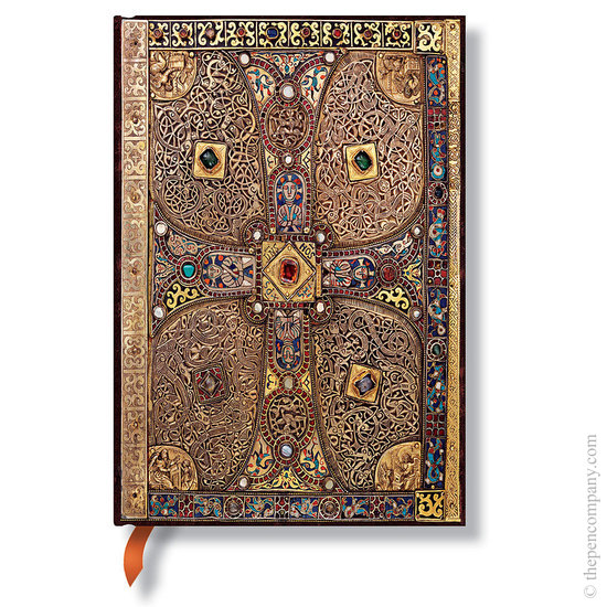 Lined Midi Paperblanks Lindau Gospels Journal - 1