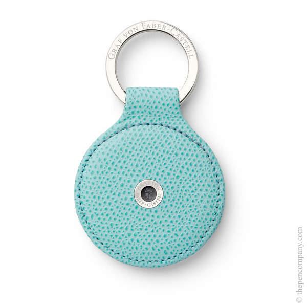 Turquoise Graf von Faber-Castell Epsom Key Ring Key Ring