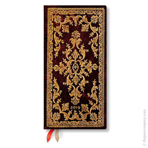 Slim Paperblanks Jewel of Urbino 2019 Diary