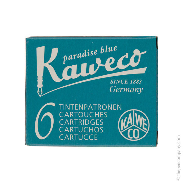 Paradise Blue Kaweco Ink Cartridges