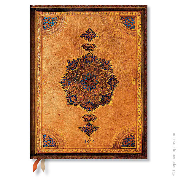 Ultra Paperblanks Safavid 2019 Diary Day-to-View