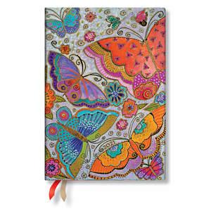 Paperblanks Flutterbyes Flutterbyes 2021 Diary Midi