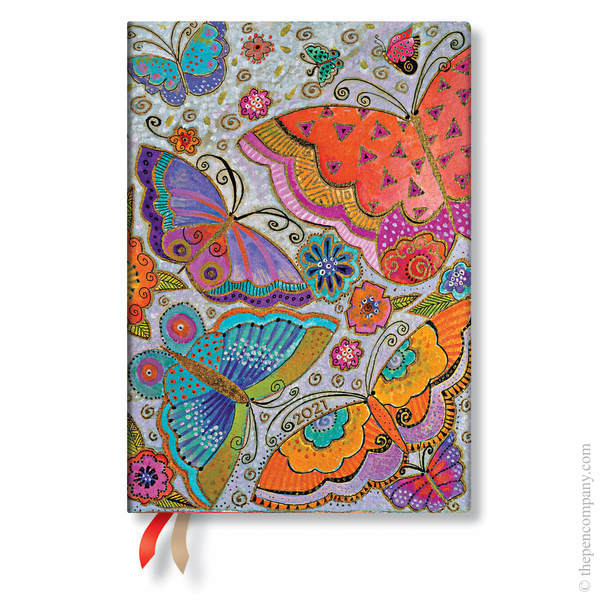Midi Paperblanks Flutterbyes 2021 Diary 2021 Diary