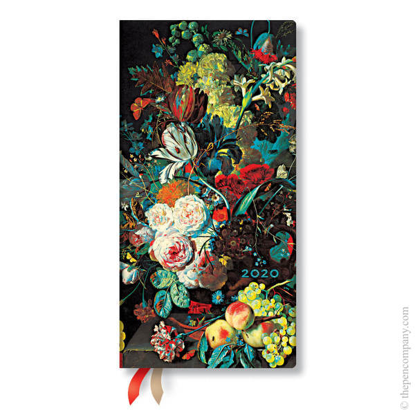 Slim Paperblanks Still Life Burst 2020 Diary