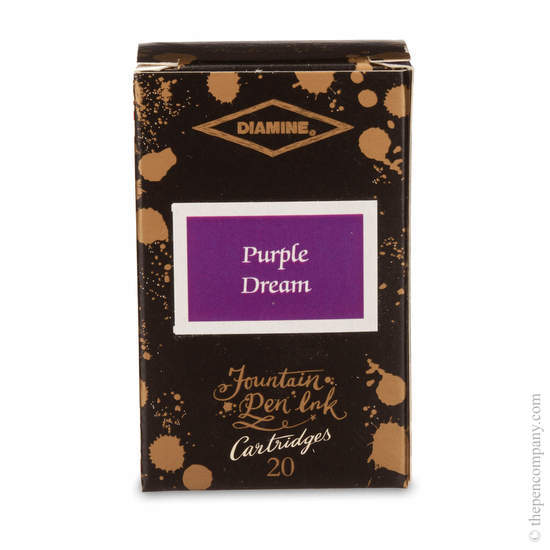 Purple Dream Diamine 150th Anniversary Ink Cartridges - 1