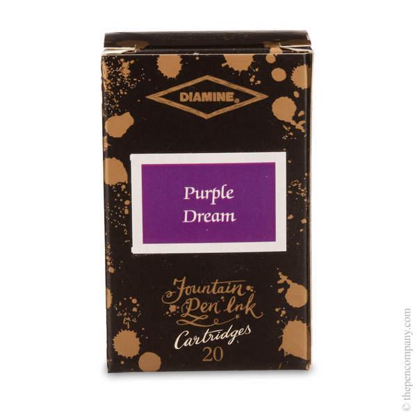Purple Dream Diamine 150th Anniversary Ink Cartridges