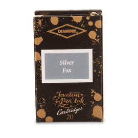 Silver Fox Diamine 150th Anniversary Ink Cartridges - 1