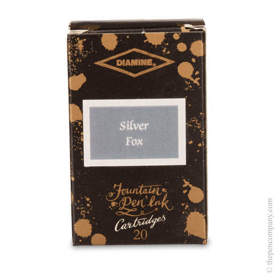 Silver Fox Diamine 150th Anniversary Ink Cartridges - 1