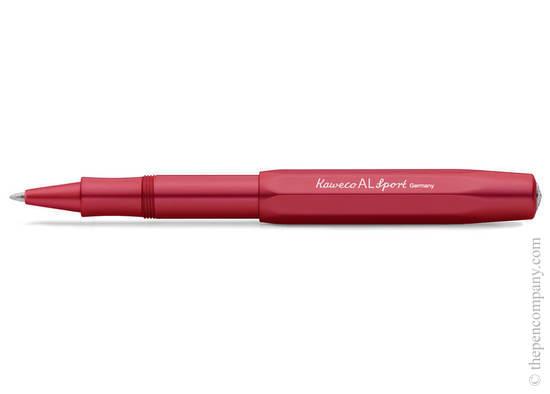 Deep Red Kaweco AL Sport Rollerball Pen - 2