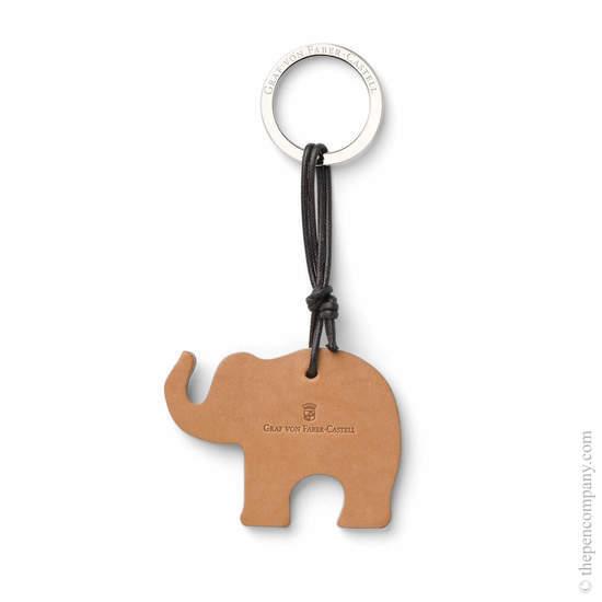 Natural Graf von Faber-Castell Elephant Key Ring - 1