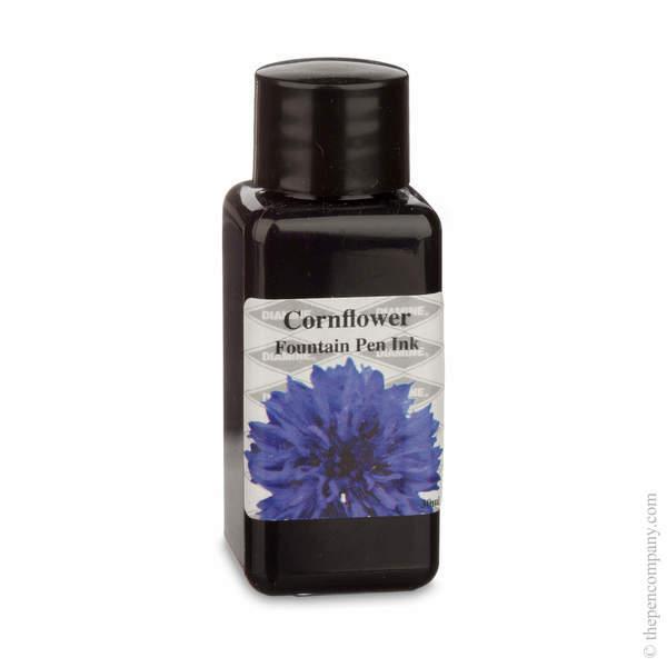 Cornflower Diamine Bottled Flower Collection Fountain Pen Ink Refills