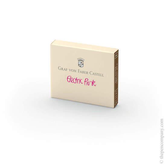 Electric Pink Graf von Faber-Castell Fountain Pen Ink Cartridges - 2
