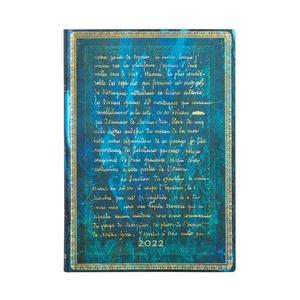 Paperblanks Embellished Manuscripts Flexi 2022 Diary 2022 Diary Midi Verne, Twenty Thousand Leagues - 4