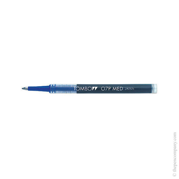 Blue Tombow Super Pen Rollerball Refill Medium