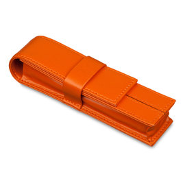 Orange Markiaro Dolcevita Mini Pen Case for One Pen - 1