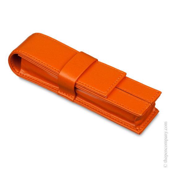 Orange Markiaro Dolcevita Mini Pen Case for One Pen - 1