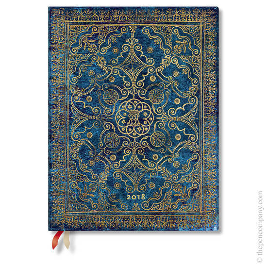 Ultra Paperblanks Equinoxe 2018 Diary Azure Day-to-View - 1