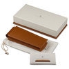Graf von Faber-Castell triple pen case-brown leather - 1