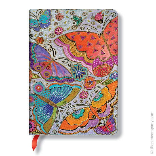 Lined Midi Paperblanks Flutterbyes Journal - 1