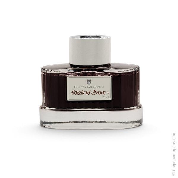 Hazelnut Brown Graf von Faber-Castell Bottled Fountain Pen Ink