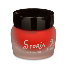 Sailor Storia Fire Red Pigment Ink - 1