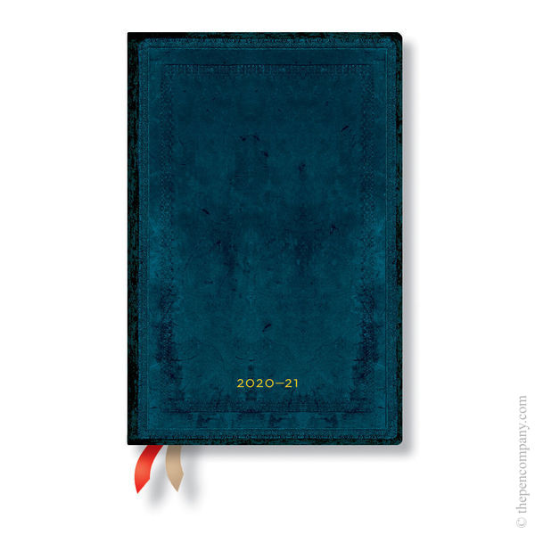 Mini Paperblanks Old Leather 2020-2021 18 Month Diary Academic Diary