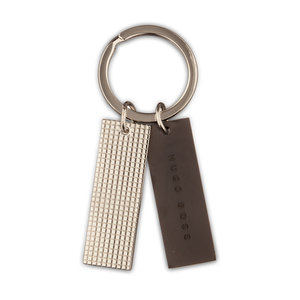 Hugo Boss Grid Key Ring - 1