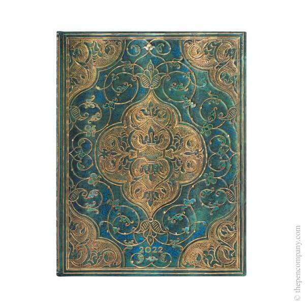 Ultra Paperblanks Turquoise Chronicles 2022 Diary 2022 Diary