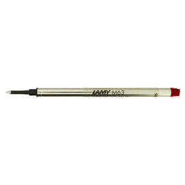 Lamy M63 Rollerball Pen Refill Red - 1