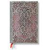 Paperblanks Silver Filigree Blush Pink Mini 2016 Horizontal Diary - 1