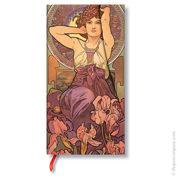 Slim Paperblanks Mucha Journal