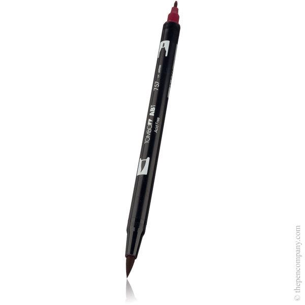 757 Port Red Tombow ABT Brush Pen Brush Pen