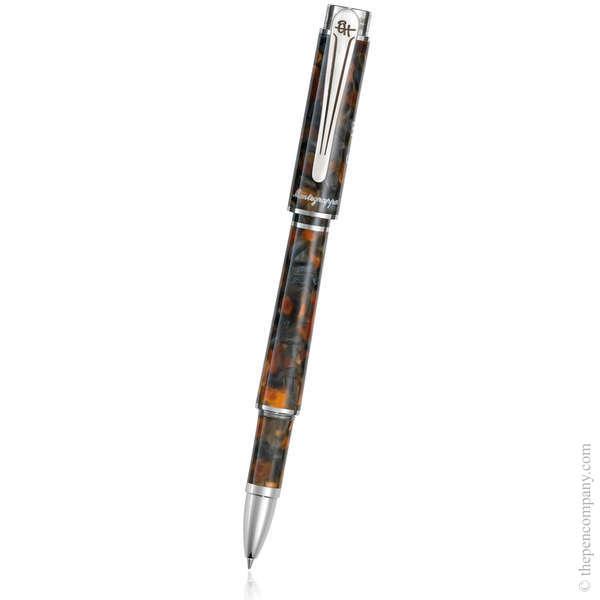 Amber Grey Montegrappa Ernest Hemingway - Novel Rollerball Pen