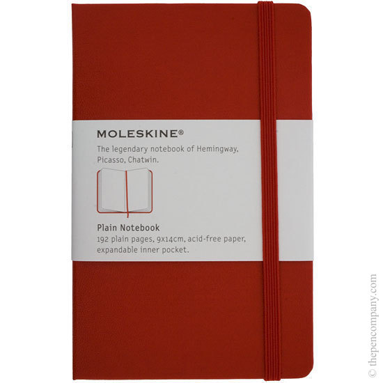 Moleskine Classic Hard Cover Notebook Red Large Unlined - 1