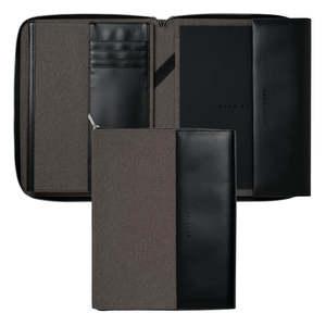 Light Grey A4 Hugo Boss Advance Conference Folder - 1