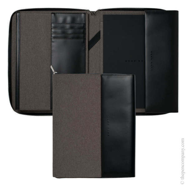 A4 Light Grey Hugo Boss Advance Conference Folder