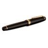 Black/Gold Sailor Professional Gear Naginata-Togi Fountain Pen - Naginata Togi Medium Fine Nib - 2