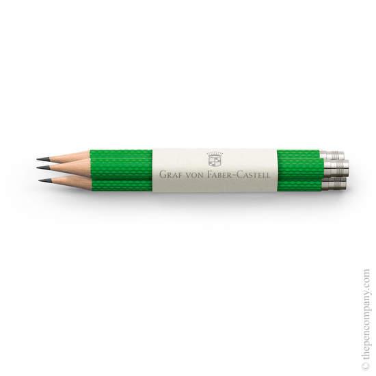 Viper Green Graf von Faber-Castell No.V Guilloche Pocket Pencils - 1