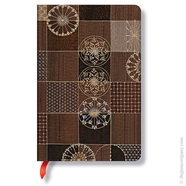 Mini Paperblanks Kirikane Journal Journal Ananda Lined