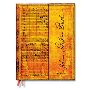Paperblanks Bach, Cantata Embellished Manuscripts Academic Diary Ultra