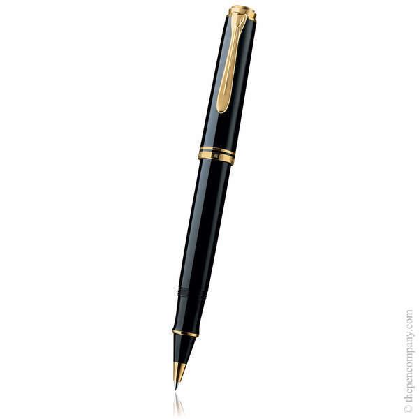 Black Pelikan Souverän 400 Rollerball Pen