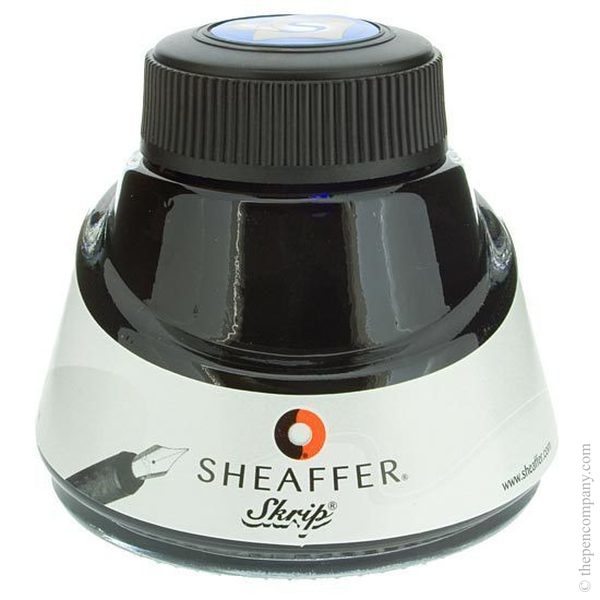 Blue Sheaffer Bottled Skrip Fountain Pen Ink