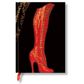 Lined Midi Paperblanks Fabulous Footwear High Button Boot Journal - 1