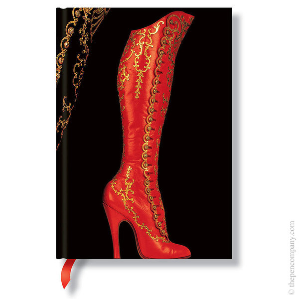 Midi Paperblanks Fabulous Footwear Journal Journal
