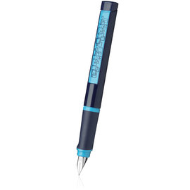 Blue Schneider Base Fountain Pen - 1
