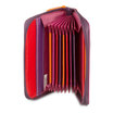 Mywalit Zip Around Fan Card Holder Sangria Multi - 2
