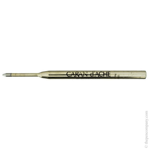 Black Caran d'Ache Goliath Ball Pen Refill Medium