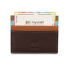 Mywalit Small Card Holder Chocolate Mousse - 3